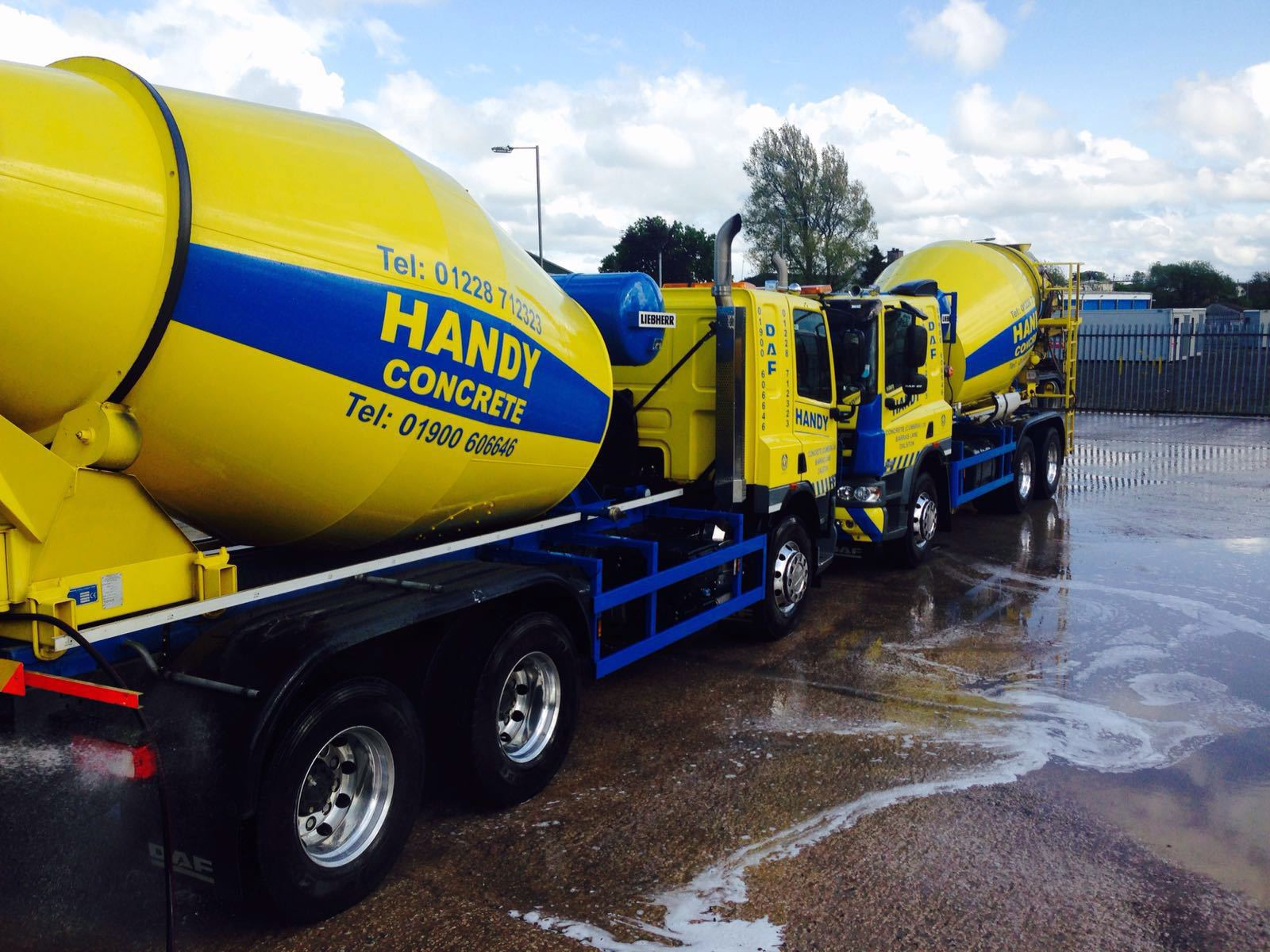 Handy Concrete Cement Trucks